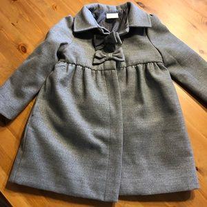 Girls 4T Dressy Overcoat Winter Coat